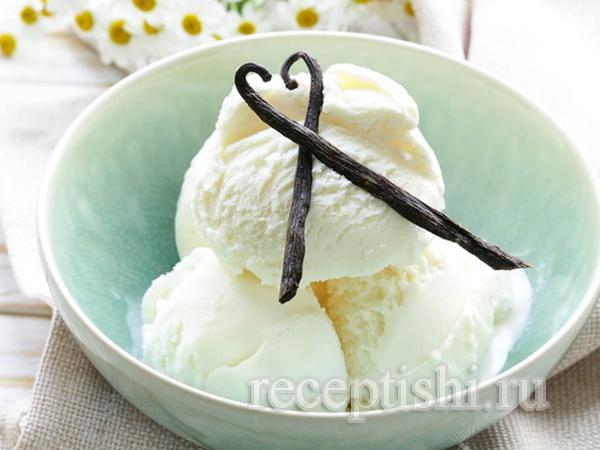 Мороженое на сметане Креольское ванильное
