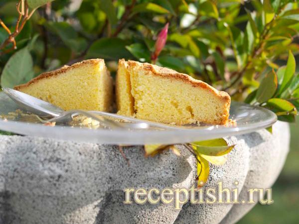 Имбирный кекс на йогурте