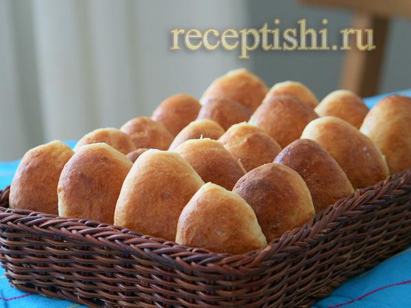 Пирожки печёные с картошкой и грибами