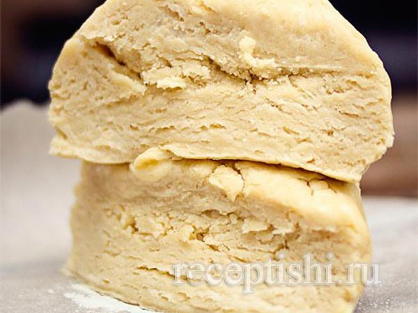 Рубленое тесто (бездрожжевое слоеное тесто для сладких пирогов)