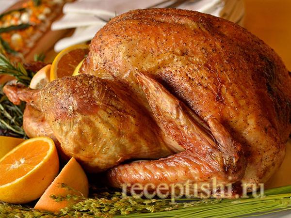 индейка с горчицей в духовке рецепт с фото