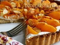 Абрикосово-творожный тарт
