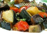 Айлазан (овощное рагу с баклажанами и картофелем)