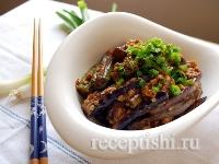 Рецепт Баклажаны жареные с мясным фаршем