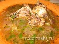Бозартма из курицы или индейки