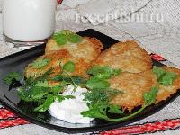 Драники (деруны) картофельные