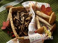 Грибы сушеные. Как сушить грибы в духовке и без