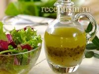 Рецепт Итальянский соус для салата