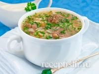 Кололик (рисовый суп с фрикадельками)