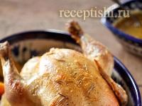 Рецепт Курица с апельсинами, в духовке