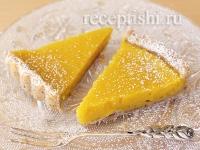 Рецепт Лимонно-ореховый тарт
