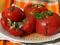 Рецепт Малосольные помидоры - обжорки