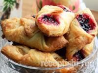 Печенье Минутка с ягодным джемом