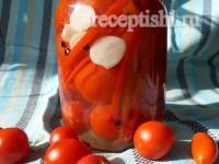 Помидоры, маринованные со сладким перцем