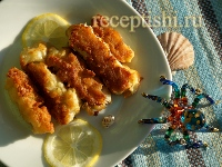 Рецепт Рыбные палочки из филе трески в кляре