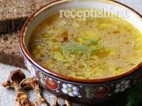 Рецепт Щи постные из квашеной капусты с грибами