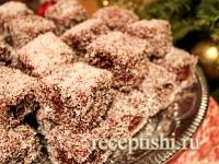 Рецепт Шоколадно-кокосовый десерт