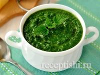 Рецепт Суп-пюре из крапивы
