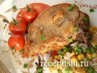 Рецепт Свинина на косточке в духовке