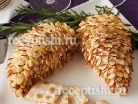 Рецепт Сырная закуска Еловые шишки
