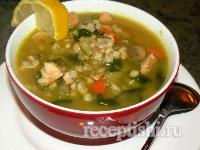 Таронский куриный суп с перловкой