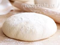 Рецепт Тесто дрожжевое постное безопарное