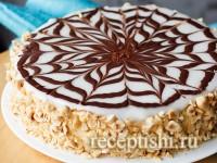 Торт Эстерхази со сгущенкой