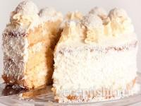 Торт Рафаэлло миндально-кокосовый