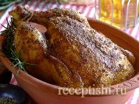 Жаркое из курицы целиком