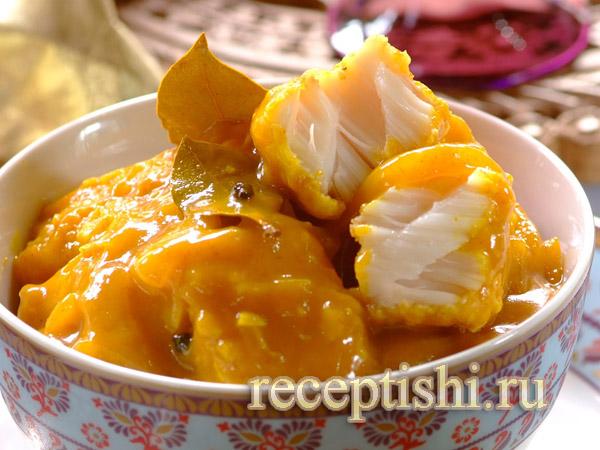 Рыба, маринованная в бальзамическом соусе