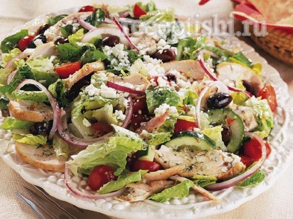 Современные салаты рецепты с фото