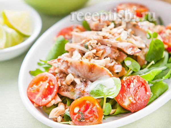 Тайский салат из курицы