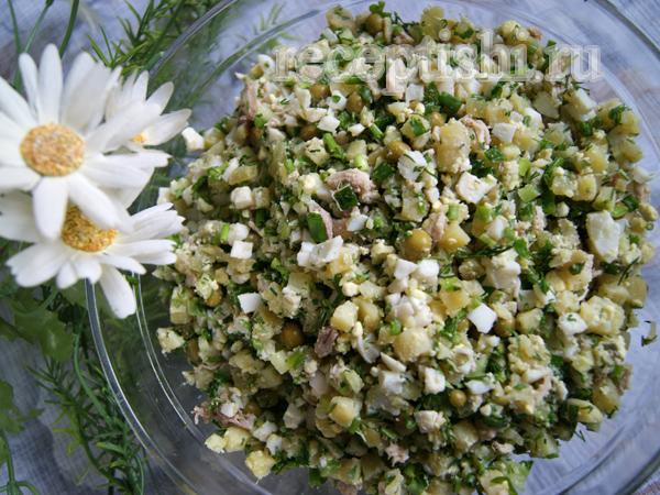 Весенний салат Оливье