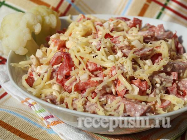 Салат из цветной капусты Хрумыч