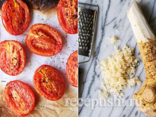 Хреновина из помидор с острым перцем домашняя нетрадиционная