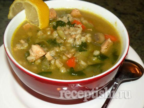 Таронский куриный суп