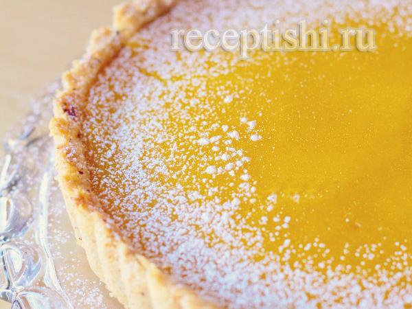 Лимонно-ореховый тарт