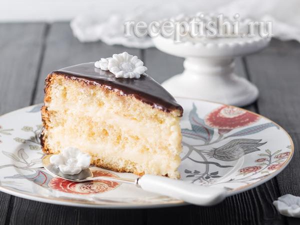 Торт Чародейка (бостонский кремовый торт)