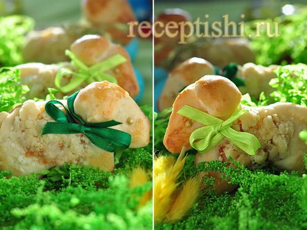 Пасхальные овечки с абрикосами