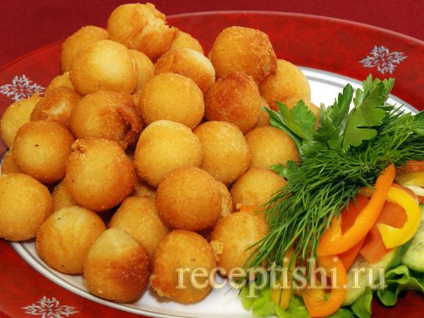 Картофельные шарики - цыбрики