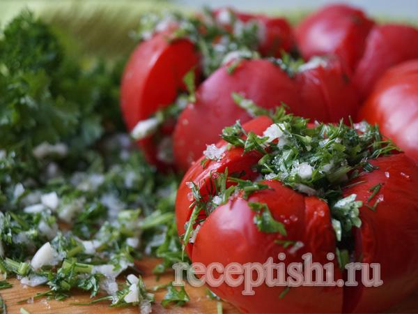 Малосольные помидоры - обжорки