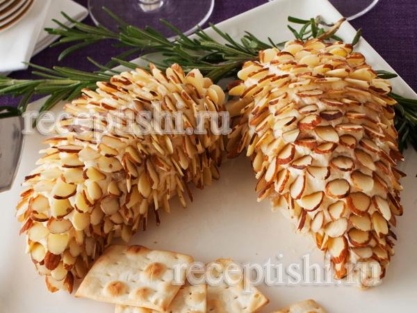 Сырная закуска Еловые шишки